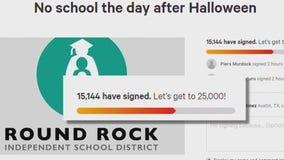 Round Rock ISD teen petitions district to cancel school day after Halloween