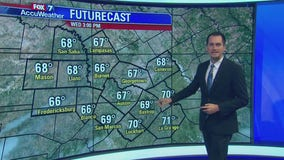 Evening weather forecast for October 15