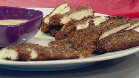 Good Day Cooks: Jalapeno Pecan Crusted Chicken