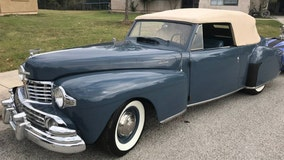 Antique car stolen from parking lot in Fredericksburg