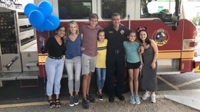 Austin firefighter, family off to Disney World thanks to Texas organizations