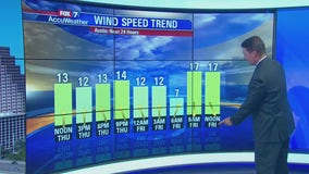 Noon weather forecast for October 10