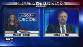 FOX 7 Discussion: 2019 Election Voter Registration
