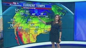 Evening weather forecast for October 12, 2019