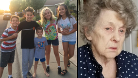 California 'team of junior detectives' help find missing 97-year-old woman with dementia