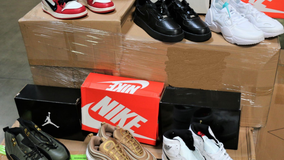 Over $2 million worth of fake Nike shoes seized at Los Angeles port