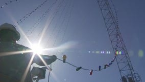 Austin Energy crews get Zilker Holiday Tree ready for December ceremony