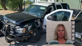 Drunk driver hits two patrol cars in New Braunfels