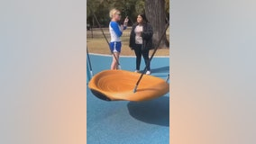 Video: Woman claiming to be a police officer curses at teens in Fort Worth park