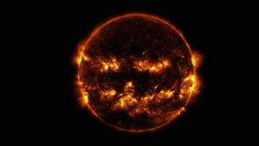 Happy Halloween from space as NASA shares Sun image that looks like jack-o-lantern