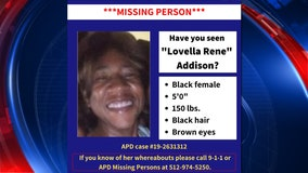 APD searching for missing 53-year-old woman with health conditions