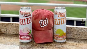 Natty Light offers special 'Nationals Light Seltzer' during World Series