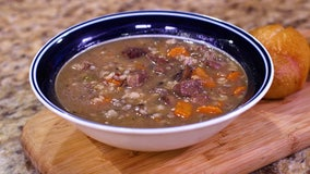 Recipe: Steak and wild rice soup