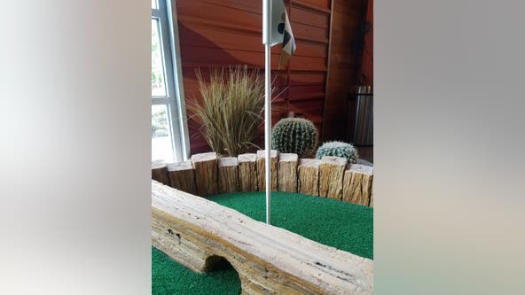 New mini golf experience at Punch Bowl Social in Domain