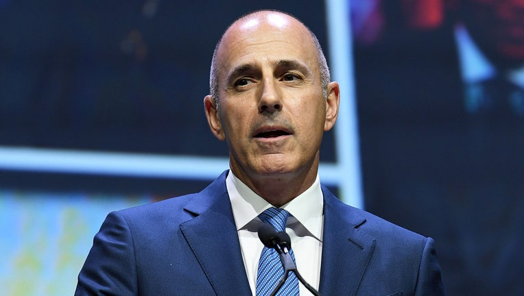 Matt Lauer attends 2017 Matrix Awards at Sheraton New York Times Square on April 24, 2017 in New York City. (Photo by Slaven Vlasic/Getty Images)