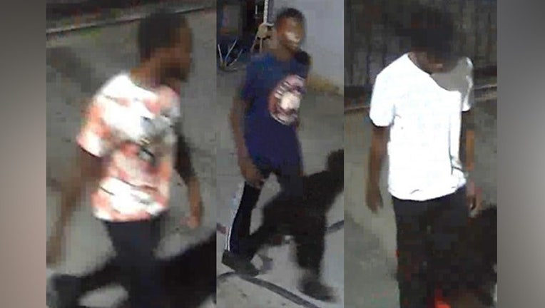 Police and Crime Stoppers are asking for the public's help identifying three suspects wanted in the shooting of a Houston teen.