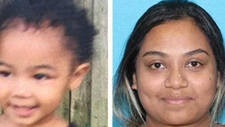 Sharena Islam Nancy, 25, faces charges including kidnapping of a minor in the disappearance of Nalani Johnson, who will be 2 years old this month.