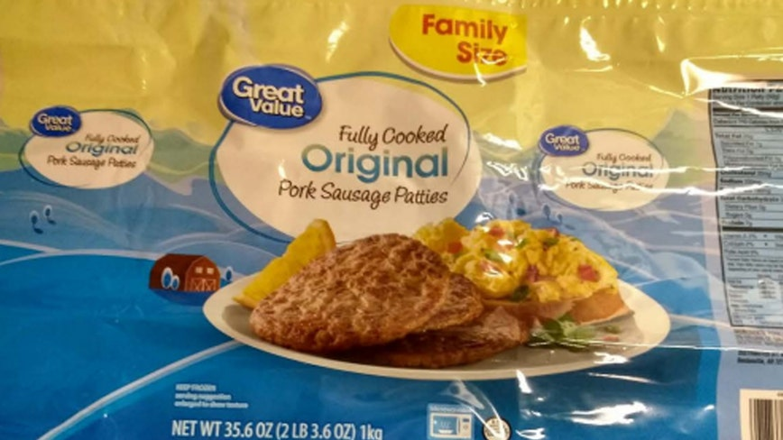 Over 6,000 pounds of Great Value sausage patties recalled over possible Salmonella contamination