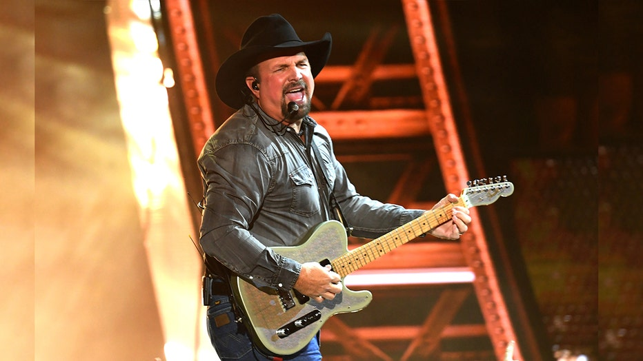 Garth Brooks has been named the next recipient of the prestigious Gershwin Prize for Popular Song. Pictured: Brooks performs at the 2019 iHeartRadio Music Awards on March 14, 2019 in Los Angeles, California.