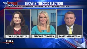 FOX 7 Discussion: Trump makes visit to Texas