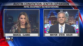 FOX 7 Discussion: Mayor Adler on hotel occupancy tax negotiations