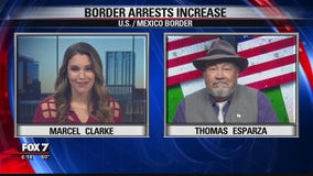 FOX 7 Discussion: Border arrests increase