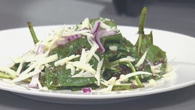 Good Day Cooks: Wilted Spinach and Bacon Salad