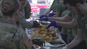 Local restaurants offer free meal at Camp Mabry to thank veterans