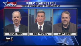 FOX 7 Discussion: Voters remain divided on impeachment, according to new poll