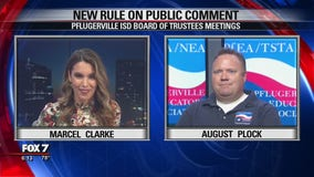 FOX 7 Discussion: Pflugerville ISD Board of Trustees changes rule on public comment