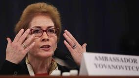 Trump impeachment hearing: Ousted Ukraine ambassador Marie Yovanovitch says she felt 'threat'