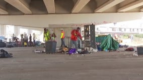 Homeless camp cleanup in Austin continues