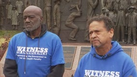 Two exonerated men travel to deliver letter to governor to stop Reed's execution