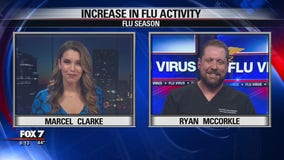 FOX 7 Discussion: Increase in flu activity