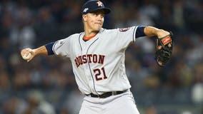Congrats! Astros pitcher Zack Greinke wins 2019 National League Gold Glove Award