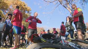 Former President George W. Bush holds 8th annual Warrior 100K bike ride for wounded veterans