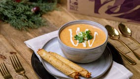 Taco Bell releases Rolled Chicken Tacos Bisque for Thanksgiving made from pureed tacos