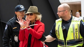 'I decided to upend my life': Jane Fonda arrested for 4th consecutive Friday outside US Capitol during climate rally