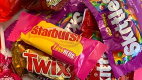Texas man tests 'candy cannon' for socially distant trick-or-treat video series