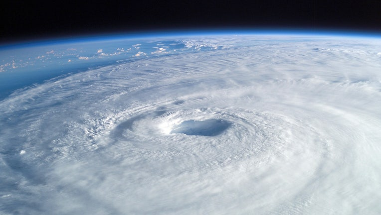Hurricane Isabel, seen from the International Space Station. (NASA)