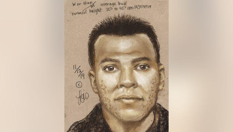 Composite sketch of shooting suspect