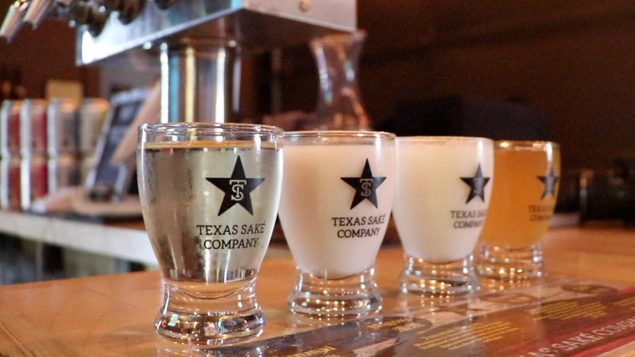 How Texas Saké is made