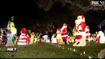 Southwest Austin family's annual Christmas lights attracts thousands