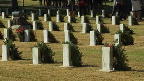 Wreaths Across America honors veterans at Texas State Cemetery