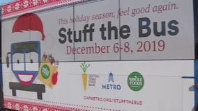 8th annual Stuff the Bus food drive