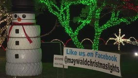 Southwest Austin family's annual Christmas lights display attracts thousands