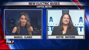 FOX 7 Discussion: CapMetro to introduce new all-electric buses