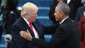 Donald Trump, Barack Obama tie for America's most admired man, poll finds