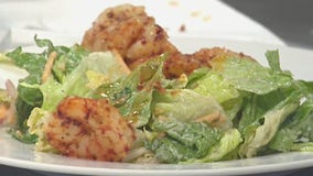 Good Day Cooks: Spicy Shrimp Salad with Cilantro Tomatillo Dressing