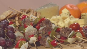 Good Day Cooks: Holiday Mini Beef Meatball Skewers